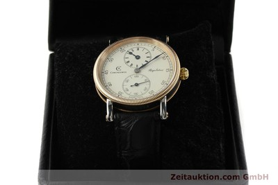 CHRONOSWISS REGULATEUR ACCIAIO / BRONZO CARICA MANUALE KAL. UNITAS 6376 [151448]