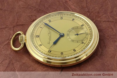 IWC TASCHENUHR 14 CT YELLOW GOLD MANUAL WINDING KAL. C.97 [151453]