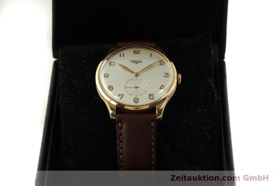 LONGINES 18 CT GOLD MANUAL WINDING KAL. 27.0 VINTAGE [151463]