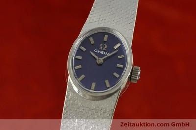 OMEGA 14 CT WHITE GOLD MANUAL WINDING KAL. 485 [151489]