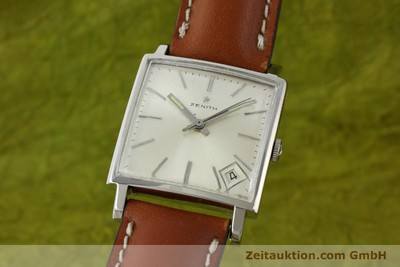 ZENITH STEEL MANUAL WINDING VINTAGE [151497]