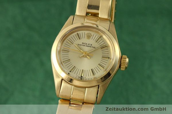 ROLEX OYSTER PERPETUAL ORO 18 CT AUTOMATISMO KAL. 2030 LP: 20600EUR [151502]