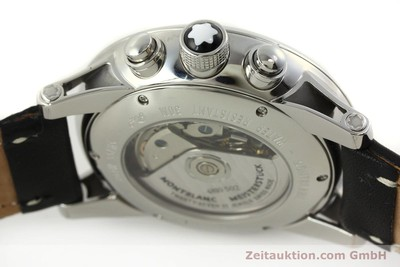 MONTBLANC TIMEWALKER CHRONOGRAPH STEEL AUTOMATIC KAL. 4810502 LP: 4490EUR [151507]