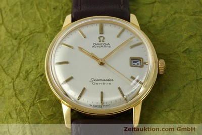 OMEGA SEAMASTER GOLD-PLATED AUTOMATIC KAL. 565 VINTAGE [151524]