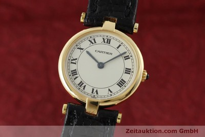 CARTIER 18 CT GOLD QUARTZ KAL. 81 [151526]