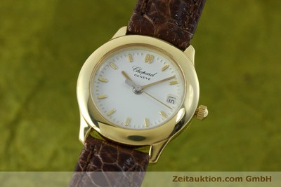 CHOPARD 18 CT GOLD QUARTZ KAL. 611 LP: 3170EUR [151541]