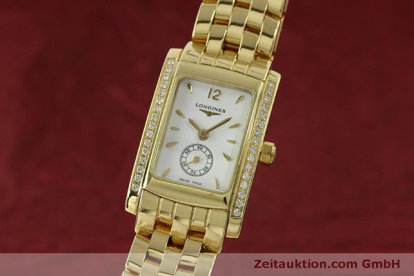 LONGINES DOLCE VITA OR 18 CT QUARTZ KAL. L.178.2 ETA 980.153 LP: 9200EUR [151548]