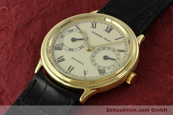 Used luxury watch Audemars Piguet * 18 ct gold automatic Kal. 2124  | 151571 01