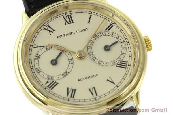 Used luxury watch Audemars Piguet * 18 ct gold automatic Kal. 2124  | 151571 02