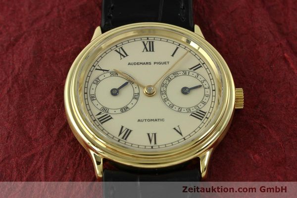 Used luxury watch Audemars Piguet * 18 ct gold automatic Kal. 2124  | 151571 14