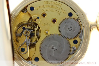 A. LANGE & SÖHNE DUF 14 CT YELLOW GOLD MANUAL WINDING KAL. 41 [151575]