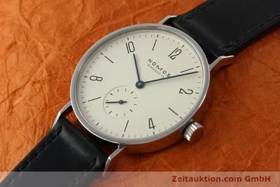 NOMOS TANGENTE STEEL MANUAL WINDING KAL. ETA 7001 LP: 1320EUR [151579]
