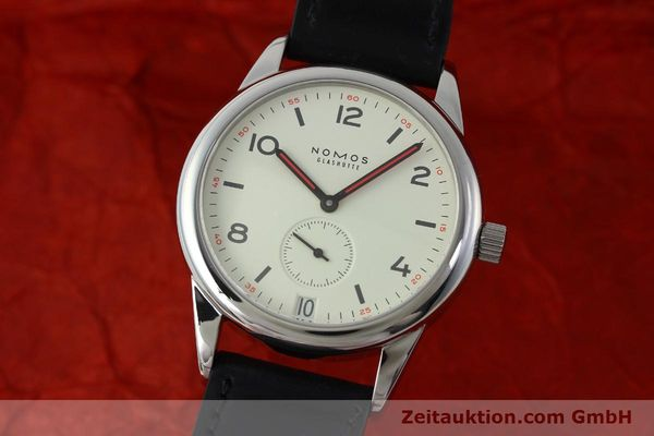 NOMOS CLUB ACERO CUERDA MANUAL KAL. BETA 5175 LP: 1560EUR [151591]