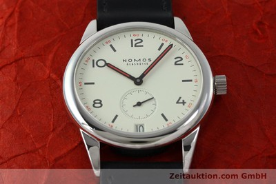 NOMOS CLUB STEEL MANUAL WINDING KAL. BETA 5175 LP: 1560EUR [151591]