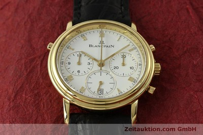 BLANCPAIN VILLERET CHRONOGRAPHE OR 18 CT AUTOMATIQUE KAL. 1186 [151592]