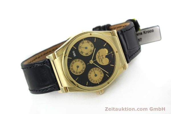 Used luxury watch IWC Ewiger Kalender 18 ct gold automatic Kal. 35582 Ref. 35401  | 151596 03