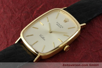 ROLEX CELLINI 18 CT GOLD MANUAL WINDING KAL. 1601 LP: 5000EUR [151598]