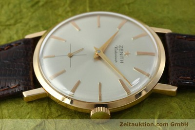 ZENITH VICTORIOUS 18 CT RED GOLD MANUAL WINDING KAL. 40-T LP: 7400EUR VINTAGE [151599]