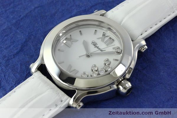 Used luxury watch Chopard Happy Sport steel quartz Kal. ETA 955.112  | 151603 01