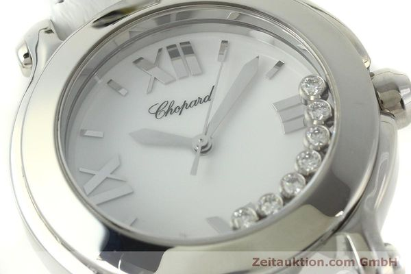 Used luxury watch Chopard Happy Sport steel quartz Kal. ETA 955.112  | 151603 02