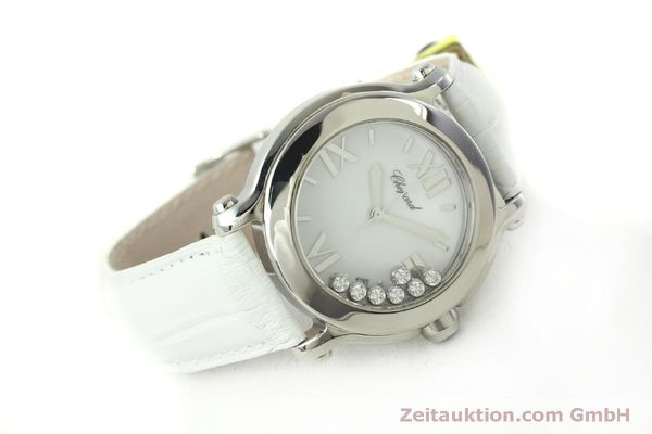 Used luxury watch Chopard Happy Sport steel quartz Kal. ETA 955.112  | 151603 03