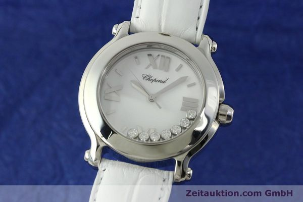 CHOPARD LADY HAPPY SPORT DIAMANTEN DAMENUHR 8475 PERLMUTT NP: 7480,- EURO [151603]
