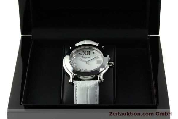 Used luxury watch Chopard Happy Sport steel quartz Kal. ETA 955.112  | 151603 07