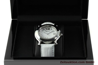 CHOPARD HAPPY SPORT STEEL QUARTZ KAL. ETA 955.112 LP: 7480EUR [151603]
