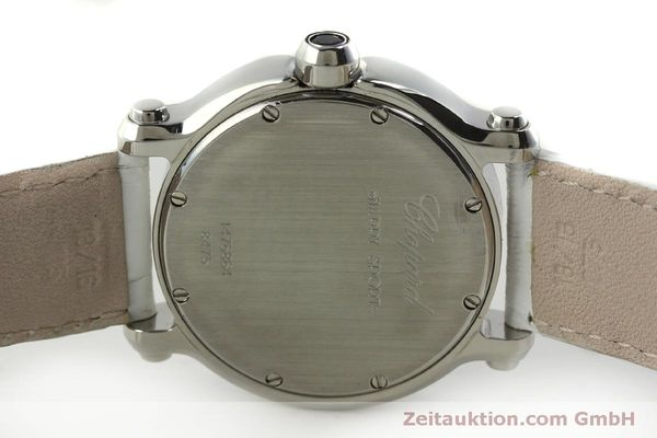 Used luxury watch Chopard Happy Sport steel quartz Kal. ETA 955.112  | 151603 09