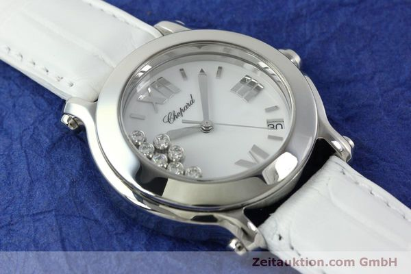 Used luxury watch Chopard Happy Sport steel quartz Kal. ETA 955.112  | 151603 12
