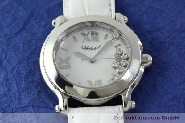 Used luxury watch Chopard Happy Sport steel quartz Kal. ETA 955.112  | 151603 13