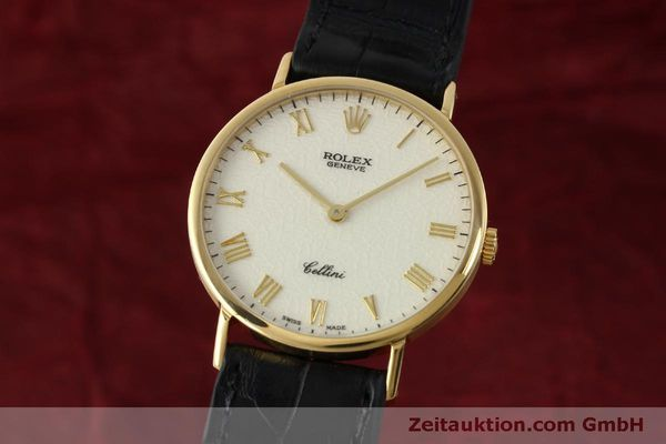 ROLEX CELLINI ORO 18 CT CARICA MANUALE KAL. 1601 LP: 5000EUR [151604]