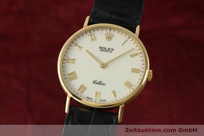 ROLEX CELLINI 18 CT GOLD MANUAL WINDING KAL. 1601 LP: 5000EUR [151604]