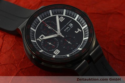 PORSCHE DESIGN FLAT SIX CHRONOGRAPH STEEL AUTOMATIC KAL. ETA 7750 LP: 3750EUR [151624]