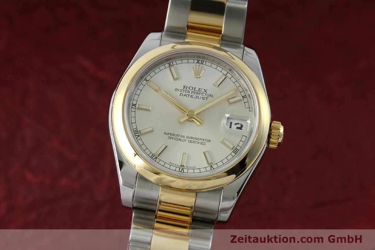 rolex lady datejust stahl gold automatik kal 2235 ref. Black Bedroom Furniture Sets. Home Design Ideas