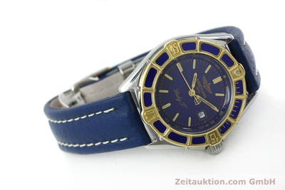 BREITLING LADY J CLASS STAHL / GOLD DAMENUHR TOP D52065 VP: 2290,- EURO [151646]