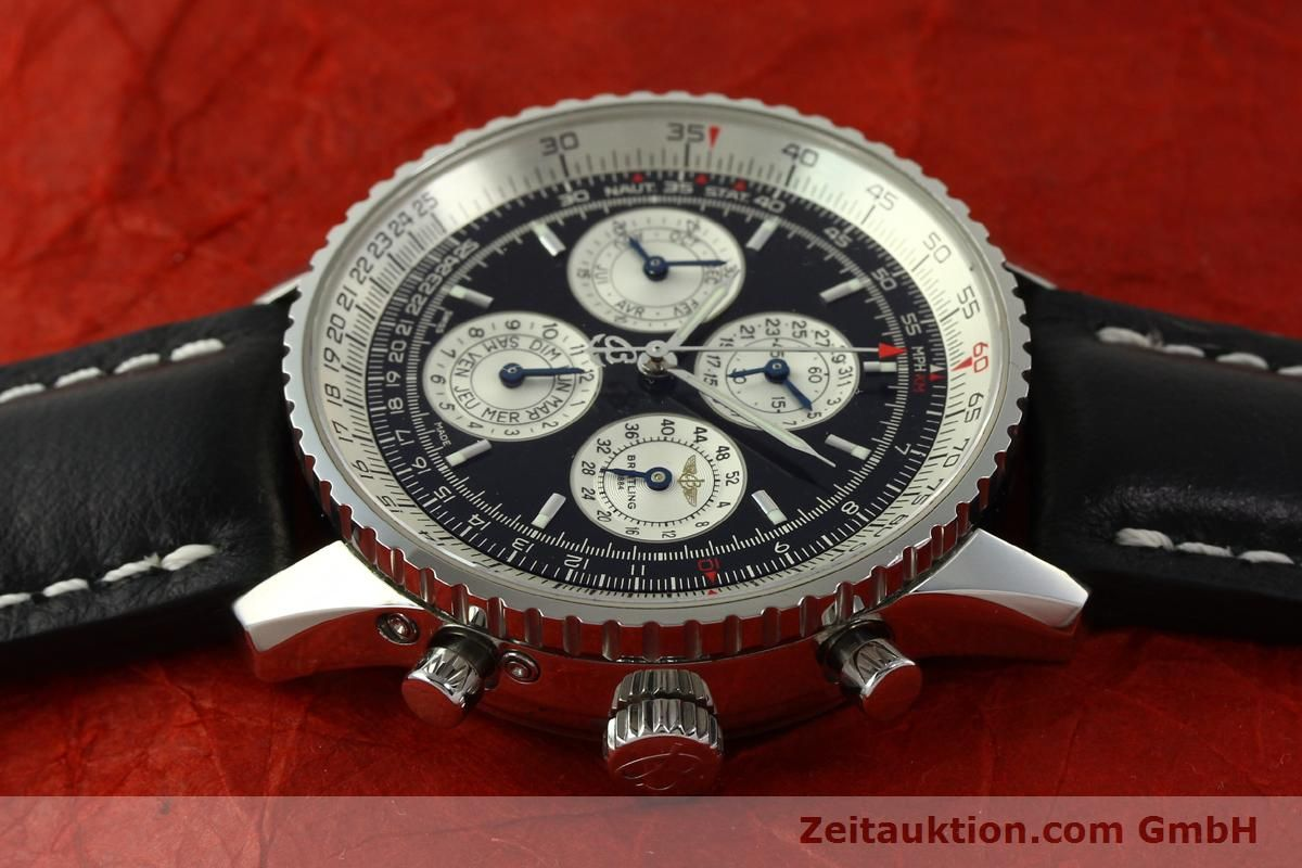 breitling navitimer chronograph stahl automatik kal eta. Black Bedroom Furniture Sets. Home Design Ideas