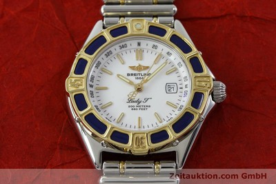 BREITLING LADY J STEEL / GOLD QUARTZ KAL. B52 ETA 956112 LP: 3710EUR [151664]