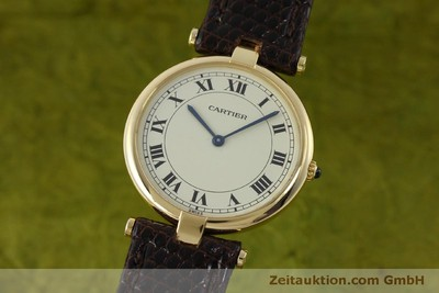 CARTIER OR 18 CT QUARTZ KAL. 81 [151665]