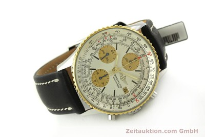 BREITLING NAVITIMER CHRONOGRAPH STEEL / GOLD AUTOMATIC KAL. VALJ. 7750 [151667]