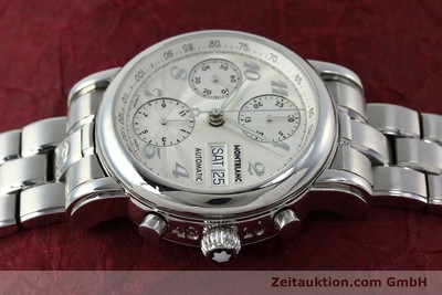 MONTBLANC MEISTERSTÜCK CHRONOGRAPH STEEL AUTOMATIC KAL. 4810501 [151673]