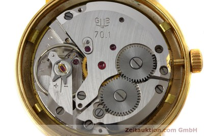 GLASHÜTTE GOLD-PLATED MANUAL WINDING KAL. 70.1 [151675]