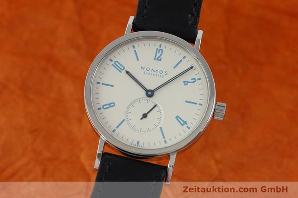 NOMOS TANGENTE SPORT STEEL MANUAL WINDING KAL. ALPHA 7417 LP: 1420EUR [151699]