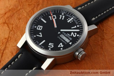 FORTIS SPACEMATIC STEEL AUTOMATIC KAL. ETA 2836-2 LP: 1145EUR [151701]