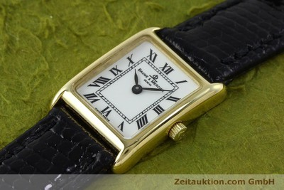 BAUME & MERCIER 18 CT GOLD QUARTZ KAL. BM5095 ETA 976.001 [151706]