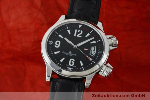 JAEGER LE COULTRE MASTER COMPRESSOR STEEL AUTOMATIC KAL. 96OR [151713]