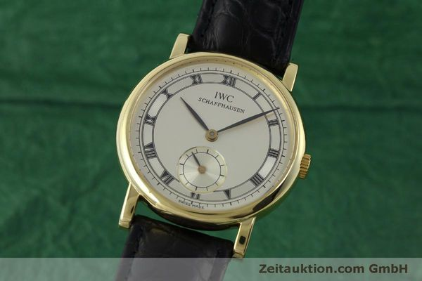 IWC PORTOFINO 18 CT GOLD MANUAL WINDING KAL. 4231 [151728]