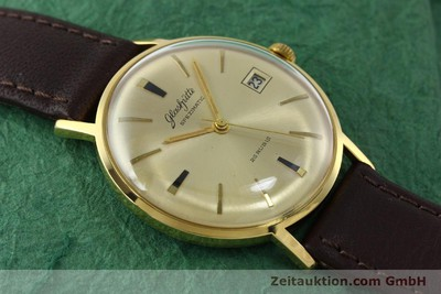 GLASHÜTTE SPEZIMATIC GOLD-PLATED AUTOMATIC KAL. 75 VINTAGE [151730]