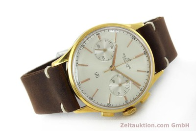 BREITLING TOP TIME CHRONOGRAPH GOLD-PLATED MANUAL WINDING KAL. VENUS 188 VINTAGE [151742]