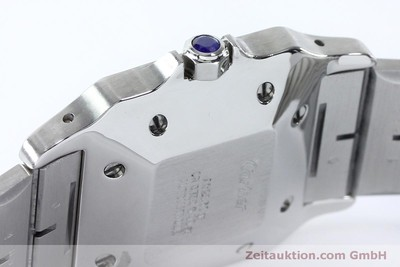 CARTIER SANTOS ACIER / OR AUTOMATIQUE KAL. ETA 2671 LP: 7100EUR [151754]